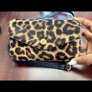Leopard Michael Kors Wallet Purse